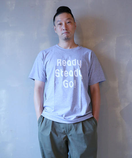 [READY STEADY GO] S/S T-SHIRT (GRAY)