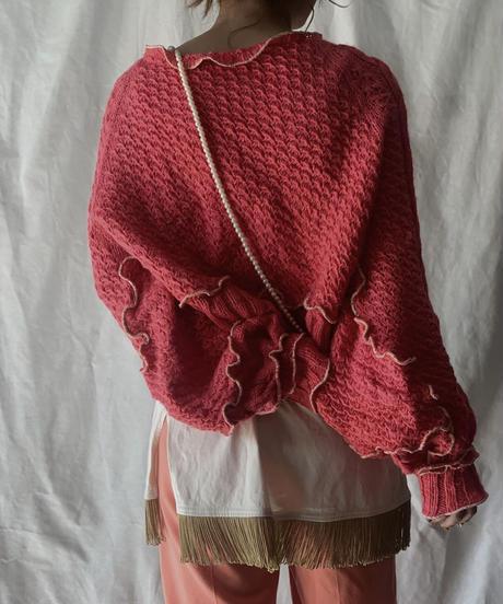 【RE;CIRCLE】 Mellow Knit Sweater ② /210203-046