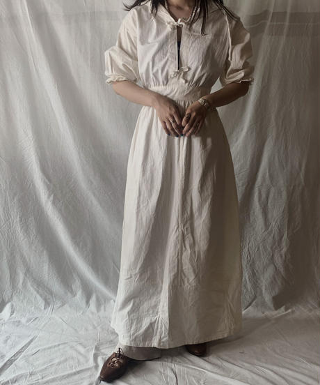 【RE;CIRCLE】RE Medical Open Front S/S One-piece ① /210601-020