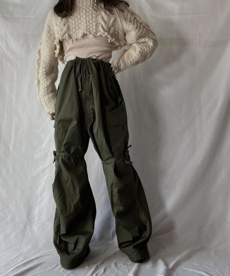 【RE;CIRCLE】 RE Alan Shirt Knit Top①/211008-014