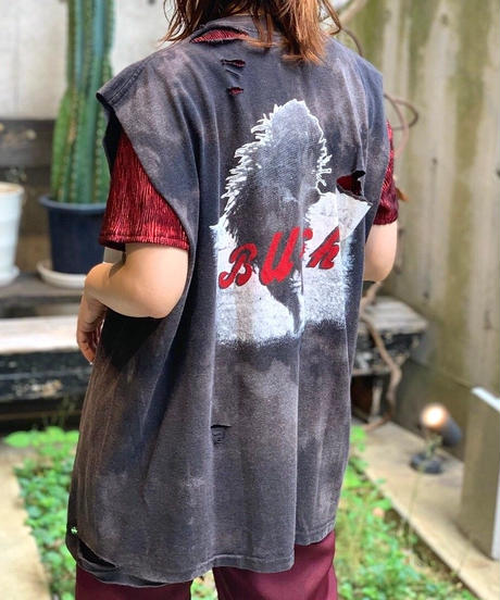 【RE;CIRCLE】 Damage  N/S Rock T-Shirt