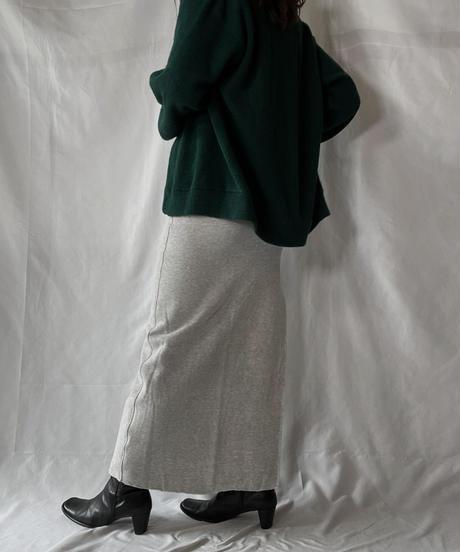【USED】 Acrylic Knit Cardigan① /210930-025