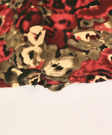 【Used】Poly Flower Print Dress 1  /200531-040