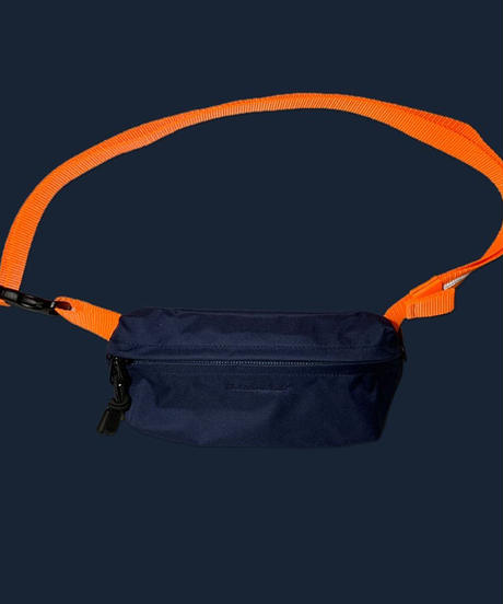"[THE UNION]THE COLOR""FIELD POUCH (S size) (Navy/Orange)"