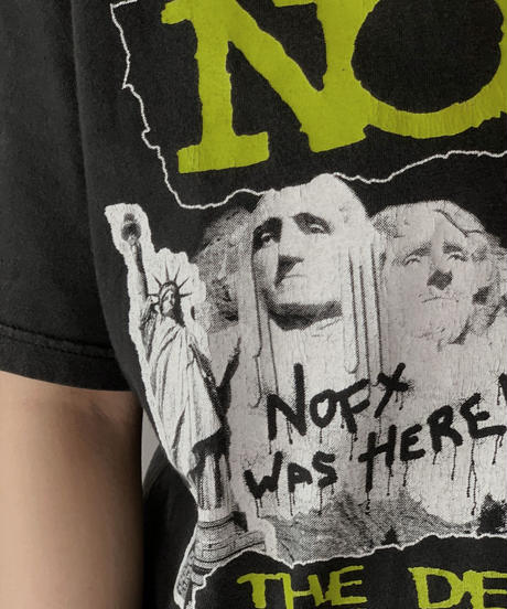 【USED】 S/S T-shirt NOFX THE DECLINE/210526-034