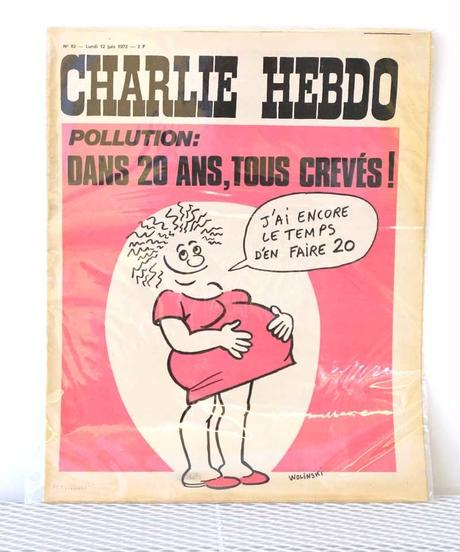 CHARLIE HEBDO(12/juin/1972)