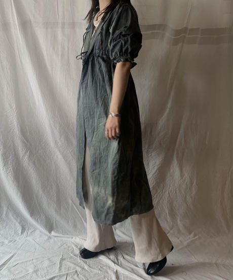 【RE;CIRCLE】RE Medical Tie dye  S/S Gown ③ /210601-026