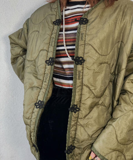 【RE;CIRCLE】 Remake Liner China  button Jacket ⑥ /210113-028