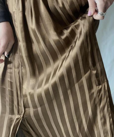 【USED】Poly Long Skirt/210217-050