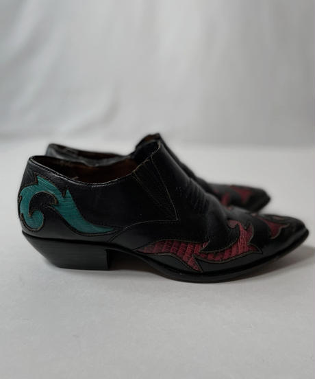 【USED】Western Leather Shoes/210826−003
