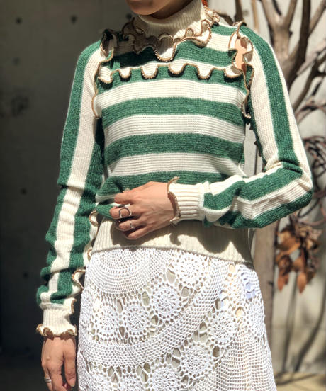 【RE;CIRCLE】Mellow N/S  Knit  & Arm Cover /200922-006