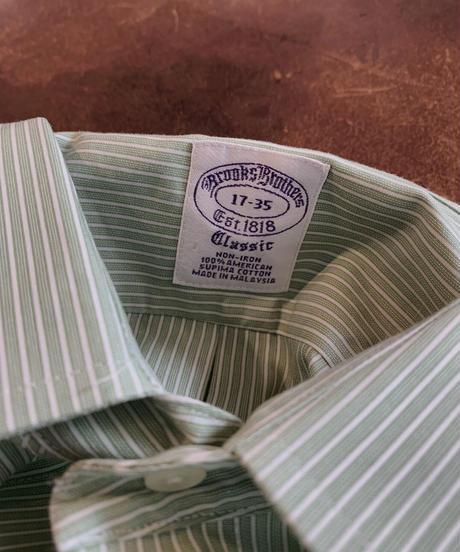 【USED】 Brooks Brothers L/S Strip Shirt 13/210624-016