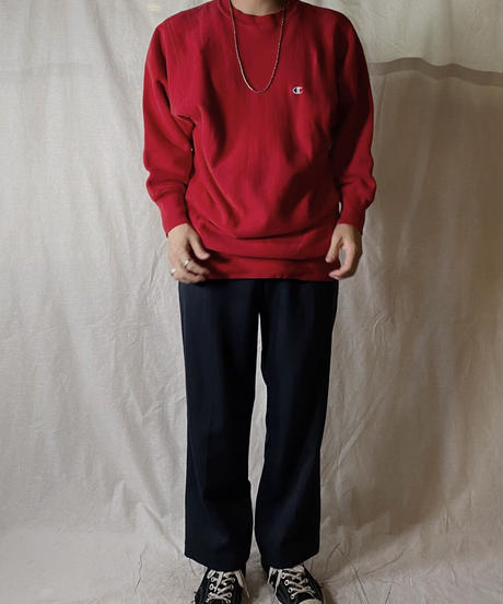 【USED】90's USA Champion Reverse Weave  Sweat One Point /210210-040