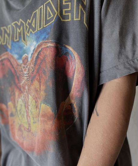 【USED】  S/S T-shirt IRON MEDEN①/210825-007