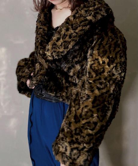 【USED】Fake Fur Jacket / 201114-014