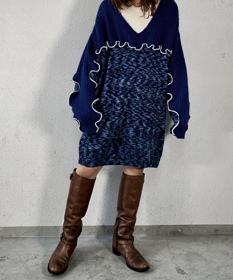 【RE;CIRCLE】 Mellow Knit Sweater ② /210106-026