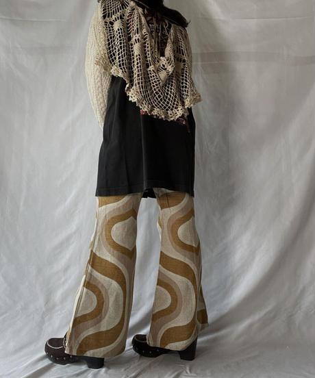 【RE;CIRCLE】 RE Alan Knit × Crochet Top②/211008-010