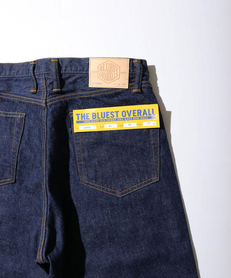 "【THE UNION】Big ""T"" Denim Pants【THE BLUEST OVERALL】 /T000005"