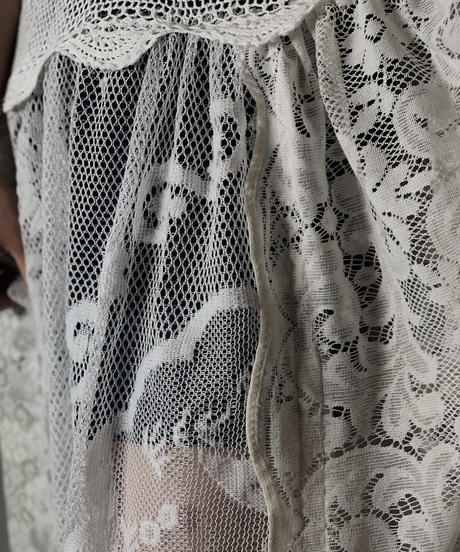 【RE;CIRCLE】 RE Lace N/S One-piece⑥/210714-010