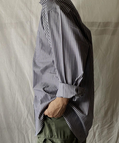 【USED】 Brooks Brothers L/S Strip Shirt⑦/210624-010