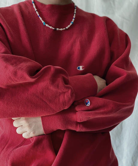 【USED】90's USA Champion Reverse Weave Sweat One Point /210213-020