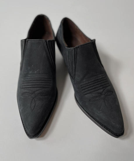 【USED】 Western  Leather Shoes/210826-001