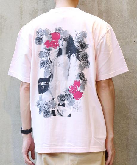 [montage] Aya Kawasaki Realize me SS T-shirt (Pink)