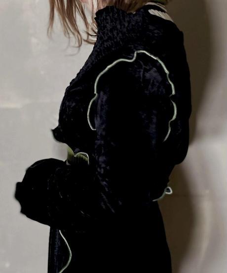 【RE;CIRCLE】 Mellow Velour Short Top ②/201212-013