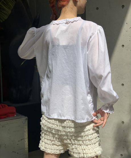【Used】L/S Rame Stripe Blouse / 200919-009