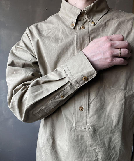 """【THE UNION】THE FABRIC """"B.D. PULLOVER SHIRTS/BEIGE/200000-001"""