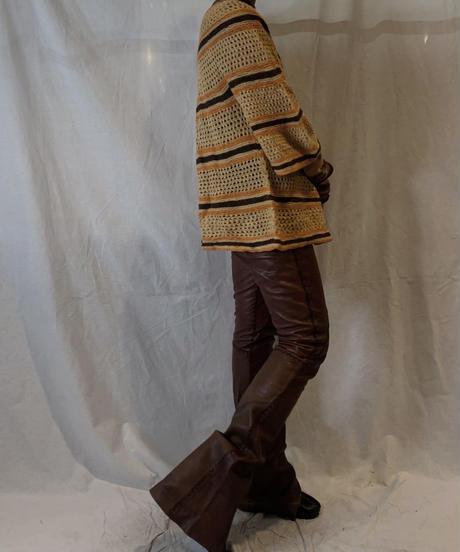 【USED】Vintage Leather Pants/210217-065