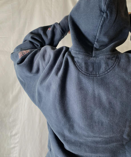 【USED】  Champion Reverse Weave Hoodie Redman/210902-036