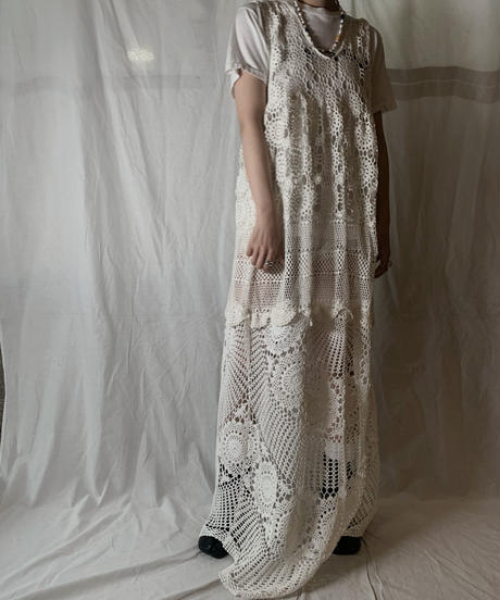 【RE;CIRCLE】 RE Lace N/S One-piece②/210714-007