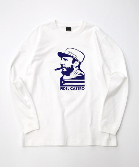 [culture is me] Long Sleeve T-shirt Castro