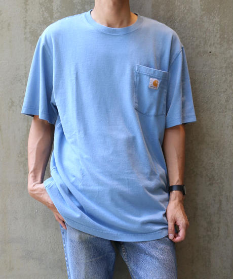 [USED] Carhartt T-SHIRT (BLUE1)