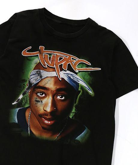 【Used】Hip-Hop T-shirt 2pac  (Hip-Hop3)