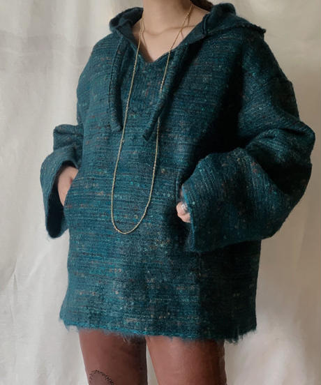 【RE;CIRCLE】 Remake Mohair Mexican Parker ③ /210203-033
