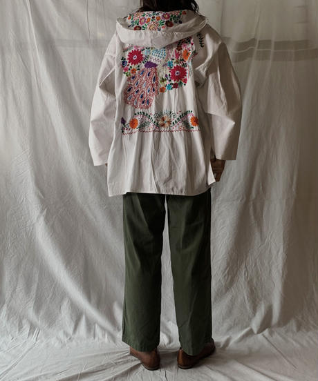 【RE;CIRCLE】RE Embroidery Ethnic Mexican Parker ① /210601-001