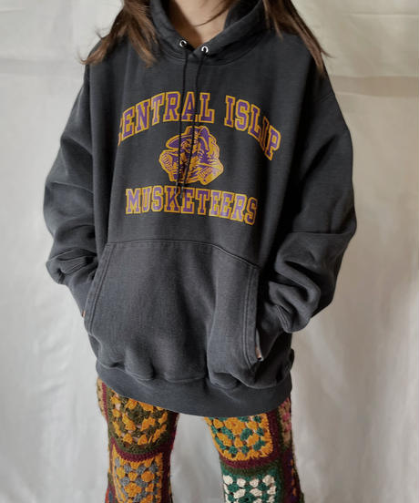 【USED】  Champion Reverse Weave Hoodie CENTRAL ISLIP/210902-025