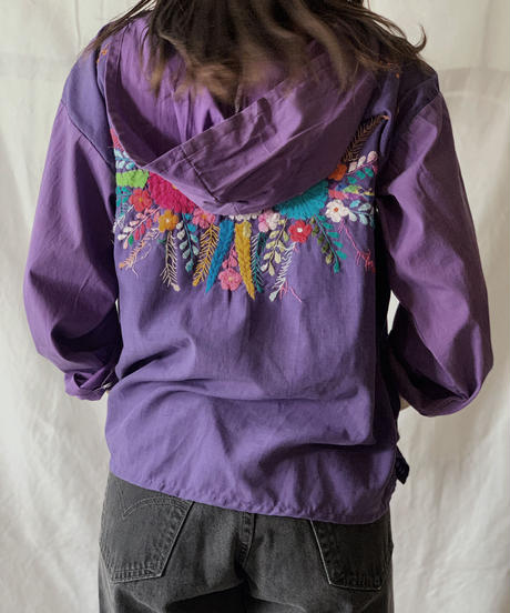 【RE;CIRCLE】RE Embroidery Ethnic Mexican Parker ④ /210601-006