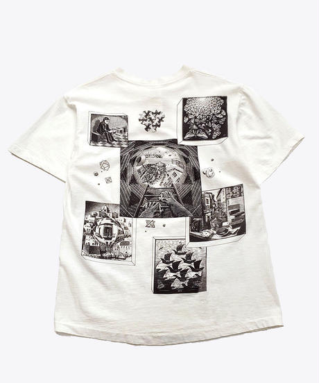 [Used] Short Sleeve T-shirt (Escher art 1)