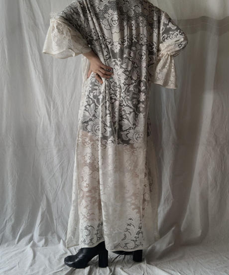 【RE;CIRCLE】 RE Front Open Lace One-piece/210714-014