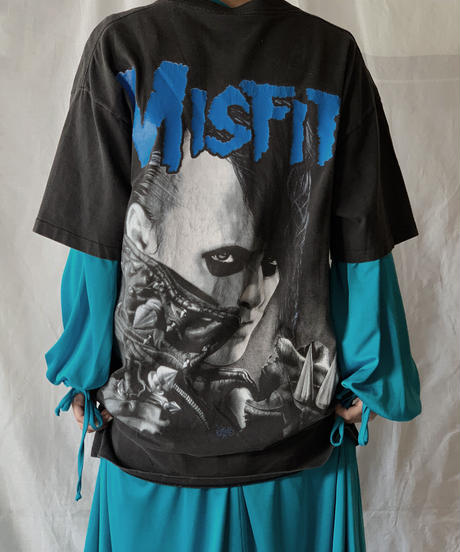 【USED】  Band T-shirt MISFITS/210407-030
