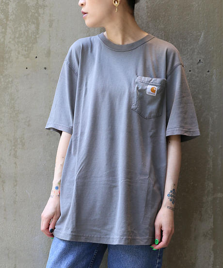 [USED] Carhartt T-SHIRT (D.GRAY1)