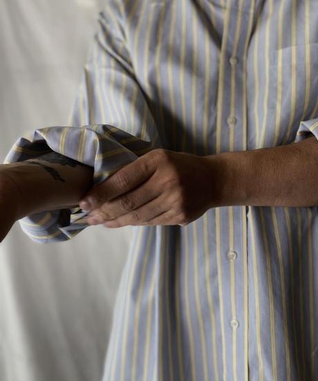 【USED】 Brooks Brothers L/S Strip Shirt⑤/210624-008