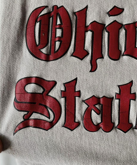 【USED】 80's USA Champion Reverse Weave Ohio State/210324-021