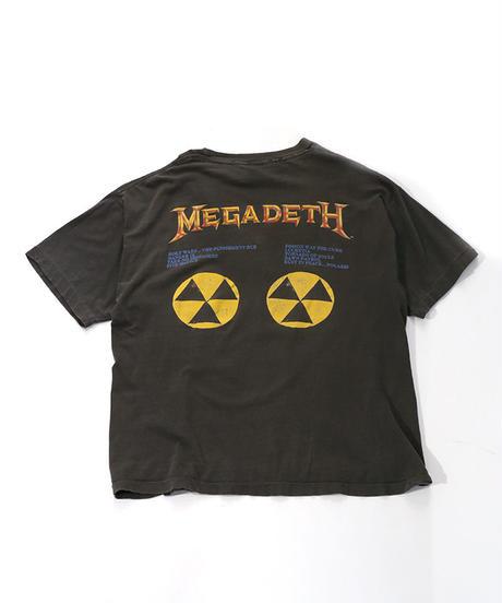 【Used】Heavy Metal Rock T-shirt  MEGADETH (Heavy Metal Rock4)
