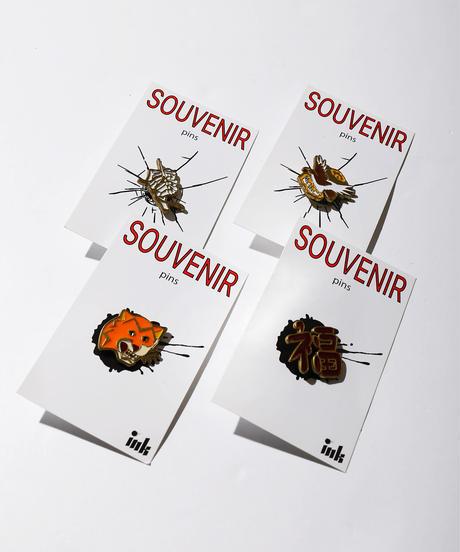 【ink】 SOUVENIR PINS TIGER /INK BS-05
