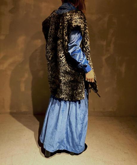 【USED】Fake Fur Vest 2/ 201104-044