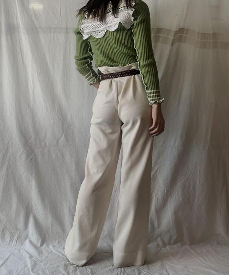 【RE;CIRCLE】 RE Knit Mellow N/S Top +  Arm Warmer②/210611-046